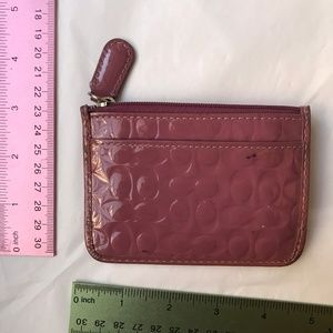 Coach Bags - Coach change purse keychain